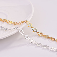 Trendy Gold Bracelets For Women Party Accessories Fashion Silver 925 Sterling Bracelet Female Princess Birthday Gift цена и фото