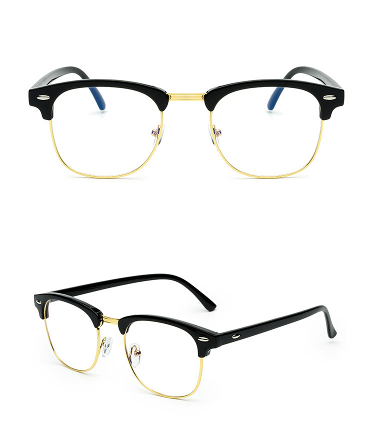 Prescription Computer Glasses Frame Anti Blue Ray For Moypia Can Put ...