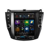 10,1*600 четырехъядерный Android 1024 Автомобильный Радио gps навигация для HONDA Accord 7th 2003 2007 с wifi bluetooth зеркальная ссылка