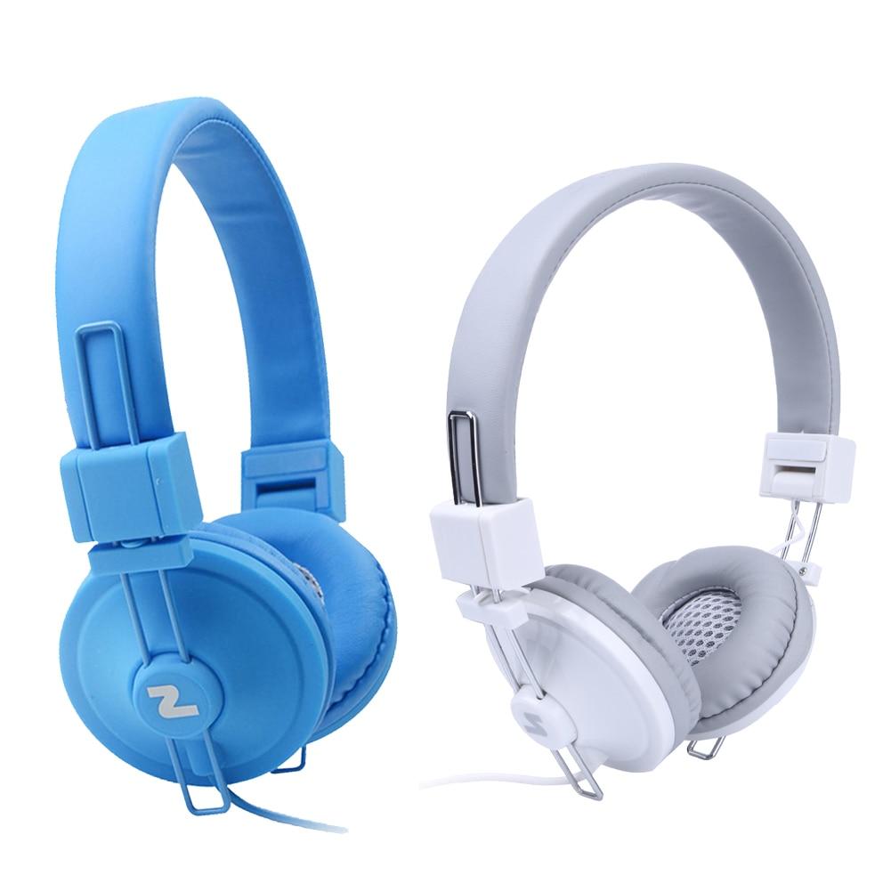3.5mm Folding Audio Big Earphone Headset  Noise Canceling Headphones Ear buds Head Phone with Mic for iPhone Samsung Huawei Etc earfun brand big headphones with mic