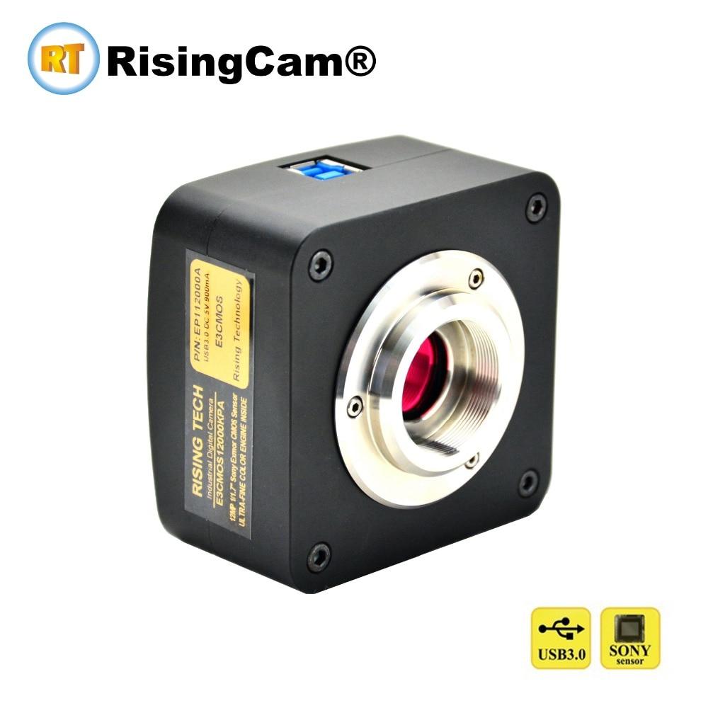 E3 20MP SONY imx147 CMOS sensor USB3 0 digital video biological microscope Camera