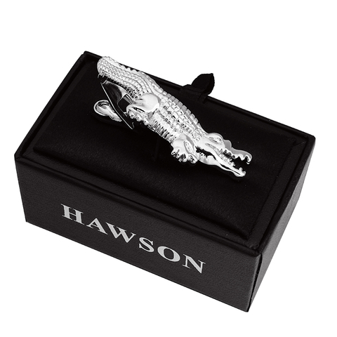 HAWSON 2 inch Tie Clip for Men-Novelty Crocodile Necktie Bar Clip Tie Pin Special Interesting Gift for Men Islamabad