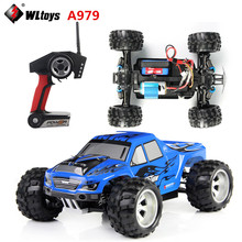 WLtoys A979 RC Car 4WD  High Speed Electric Car 2.4G 1:18  Scale 4WD Monster Truck Off-road Remote Control Vehicle 50KM/H