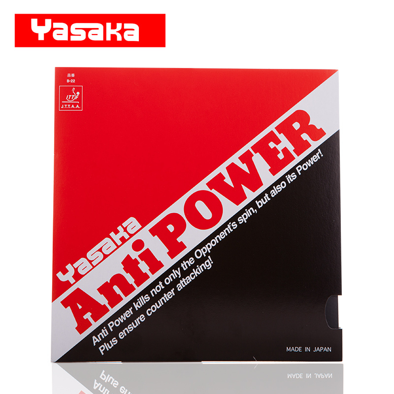 Yasaka Original Anti Power Pimples In Table Tennis Rubber Pips-In Ping Pong Sponge Tenis De Mesa andro rocket pimples in table tennis rubber pips in ping pong sponge tenis de mesa