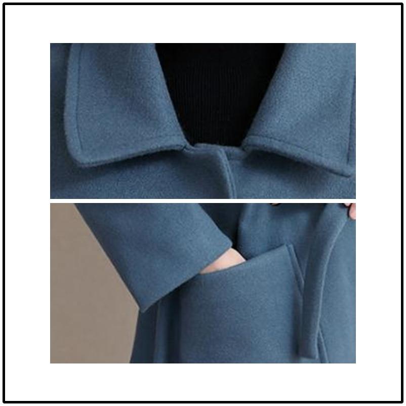 Longue Vêtements Pour Laine Green Feminino pourpre Imperméable La Bleu 4xl Coupe Élégant Casaco Manteau Taille Féminins Femmes Tranchée vent Plus Vent kaki army De 81tWTAAvf