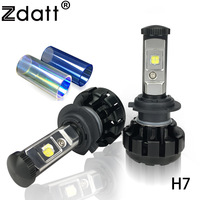 2Pcs Super Bright H7 Led Bulb 80W 9200LM Headlights High Power Car LED Lights 6000K White