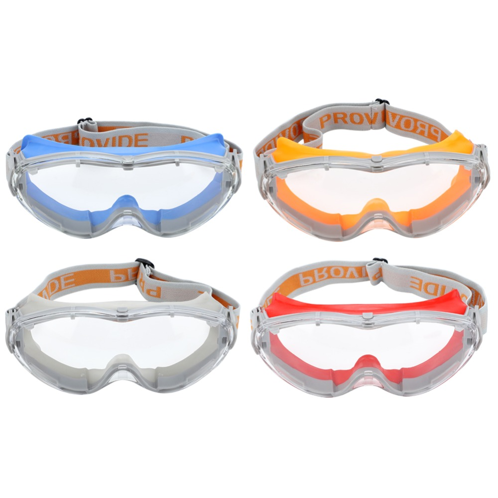 Safety Glasses Eye Protection Against UV Anti-shock Working Protective Goggles light safety gray pc protective goggles outdoor windproof ride riding safety goggles shock resistant glasses eye protection
