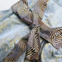 Silk Women Print Sexy Deep V-neck Vintage Ruffle Slim