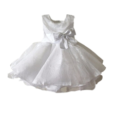 BBWOWLIN White Newborn Baby Girl Baptism Dresses Christening Dress for 0 2T First Communion Dresses for