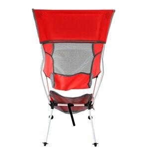 Image 5 - 2019 yeni açık Ultralight taşınabilir katlanır ağır 360lbs kapasiteli kamp katlanır sandalyeler plaj sandalyeleri