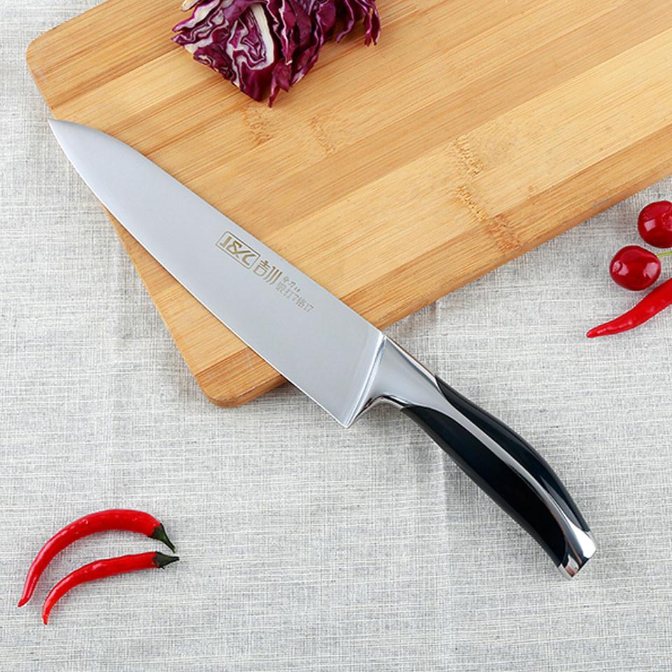 long handle steel knife