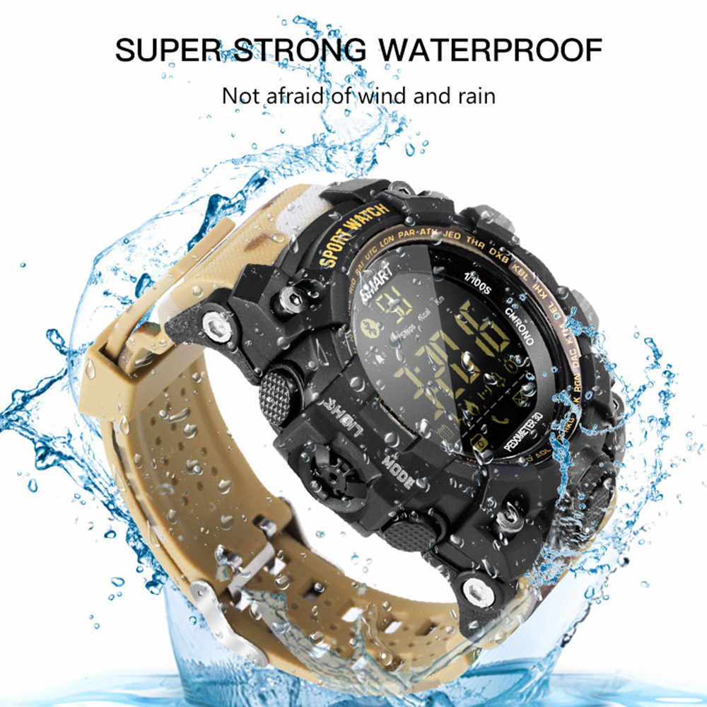 EX16S wielofunkcyjne wodoodporne smart watch pilot zdalnego kamera do Androida iOS 2019 nowego mężczyzna sport analogowy zegar zegarki na rękę
