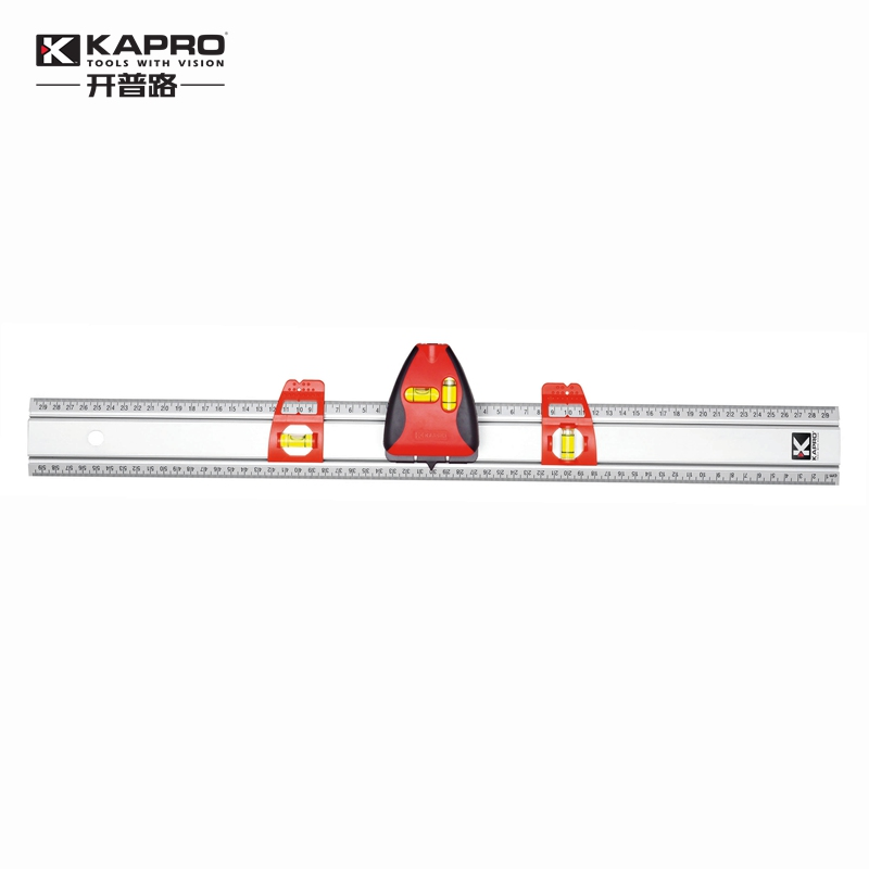KAPRO 80CM High precision infrared light level meter Laser Level Marking Ruler Investment line instrument Dimensioning kapro clamp type high precision infrared light level laser level line marking the investment line