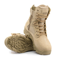 Men's Tactical Wear proof High Tube Shoes Male Outdoor Sports Army Working Desert Combat Mountaineering DELTA Non slip Boots