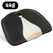 AAG Pisces Seat Cushion Foam Memory Ergonomic Airplane Truck Auto Driver Car Chair Hemorrhoid Office