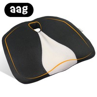 AAG Pisces Seat Cushion Foam Memory Ergonomic Airplane Truck Auto Driver Car Seat Cushion Chair Cushion Hemorrhoid Office Chair