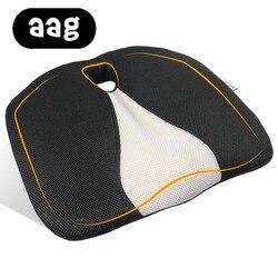 AAG Pisces poduszka siedziska pianka pamięci ergonomiczny samolot ciężarówka kierowcy samochodu poduszki na siedzenia samochodowe poduszka na krzesło hemoroidy krzesło biurowe|Poduszki|   -