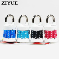 Free Shipping Locks Can Be Adjusted Password Locks Four Passwords Letters Four Colors