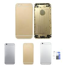 Superior Quality Replacement Part Metal Alloy Back Battery Case Back Cover for iPhone 6 4.7 Inch