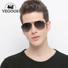 VEGOOS Designer Brand Aviation polaroid sunglasses for men Classical Sun Glasses Driving Pilot Size S #3025S