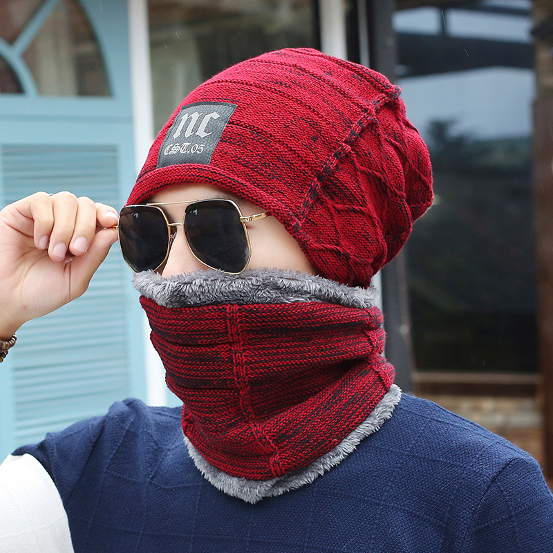 2017 new men warm hats beanie hat winter knitting wool hat for unisex caps lady beanie knitted caps women s hats warm z1 [Dexing]Male Warm Hats Beanie Hat Winter Knitting Wool Hat for Unisex Caps Lady Beanie Knitted Caps Women's Hats  Sport Warm