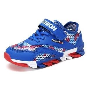 Image 5 - ตาข่ายระบายอากาศเด็กรองเท้าผ้าใบเด็กรองเท้าเด็กรองเท้าเด็กรองเท้ากีฬาโรงเรียนรองเท้าวิ่ง 28 30 31 32 33 34 35 36 37 39