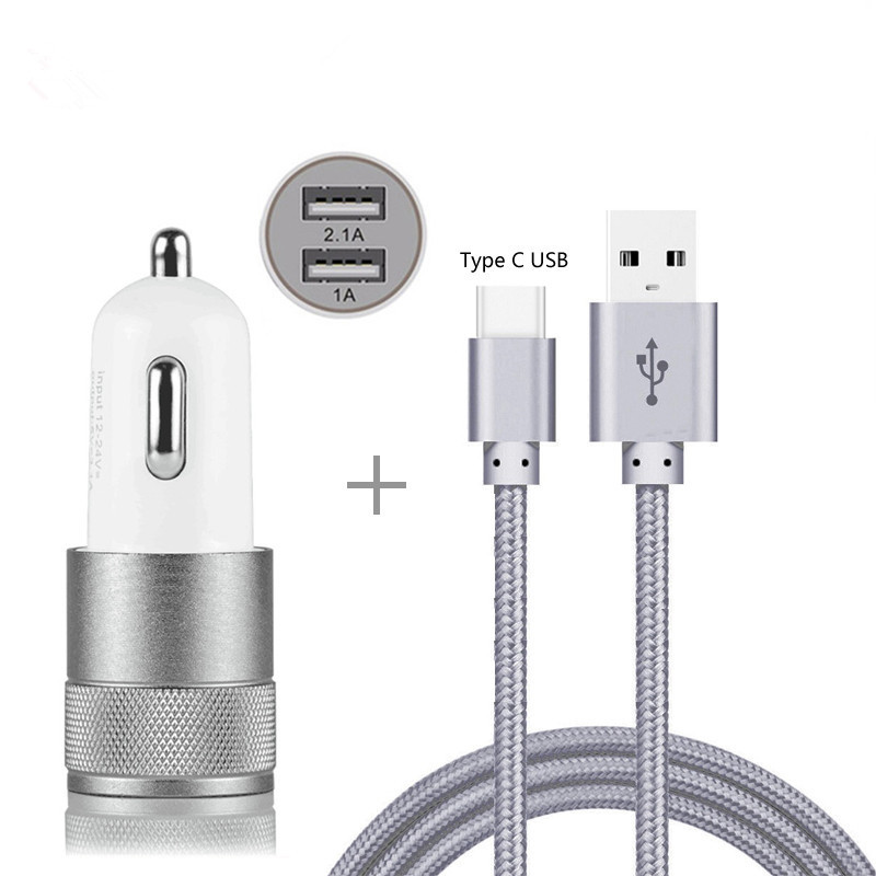 Car Charger Adapter For Sony Xperia Xa3 Xz3 Xa2 Xa1 R1 Plus Ultra Xz2 Xz1 Xz Premium Compact L2 L1 Nylon Type-c Usb Cable Finely Processed Mobile Phone Accessories
