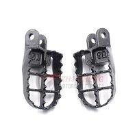 Motorcycle Dirt Bikes Foot Pegs Footpeg Footrests for Honda CR80 CR85 XR250R XR400R XR600R XR650R XR650L CR 80R CR85R Expert