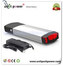 Heißer verkauf lithium-ionen akku 36 v 11ah elektrische fahrradbatterie mit ladegerät