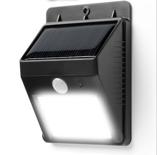 6 LED Outdoor LED Wireless Solar Powered Motion Sensor Light Security Lamp Detector waterproof hot waterproof led solar light 46 led outdoor wireless solar powered motion sensor solar lamp wall lamp security lights