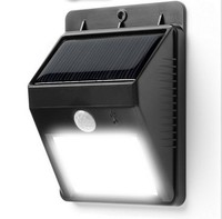 6 LED Outdoor LED Wireless Solar Powered Motion Sensor Light Security Lamp Detector Waterproof