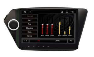 9inch Quad Core 1024*600 Android In dash head unit car radio stereo dvd player gps nav for KIA RIO k2 16G Nand Flash(China)
