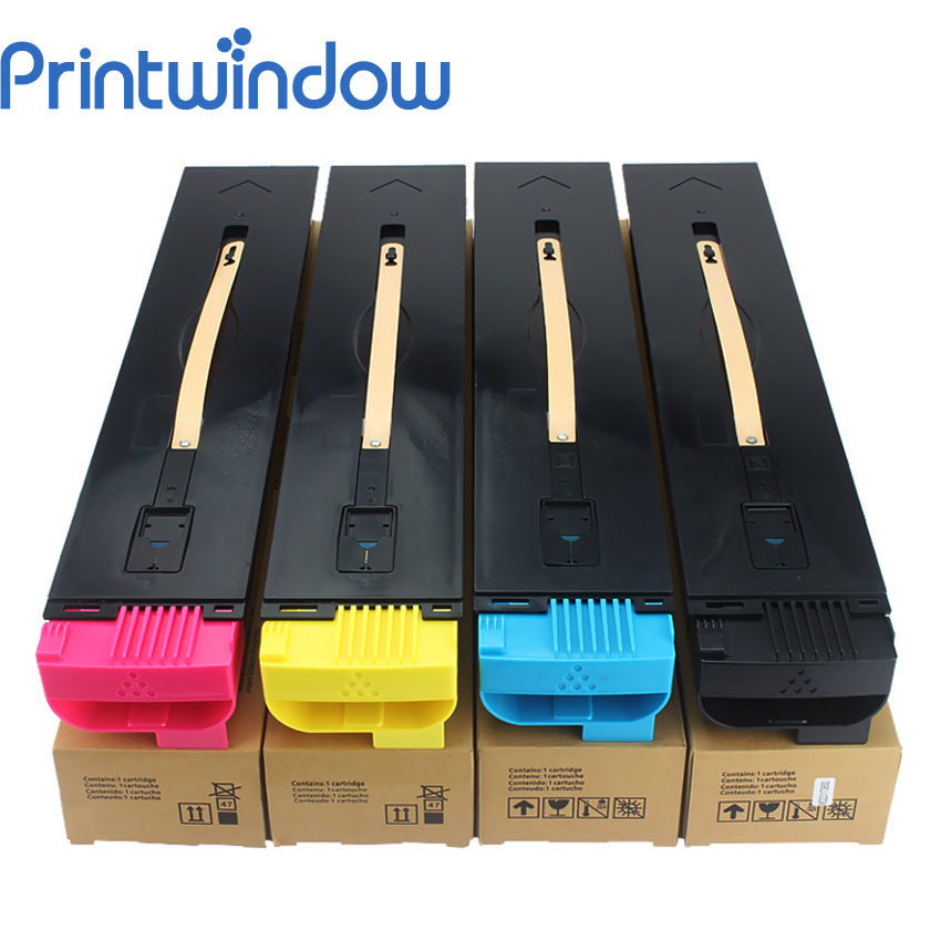Printwindow Compatible Toner Cartridge for <font><b>Xerox</b></font> <font><b>550</b></font> 560 570 700 J75 C75 4X/Set image