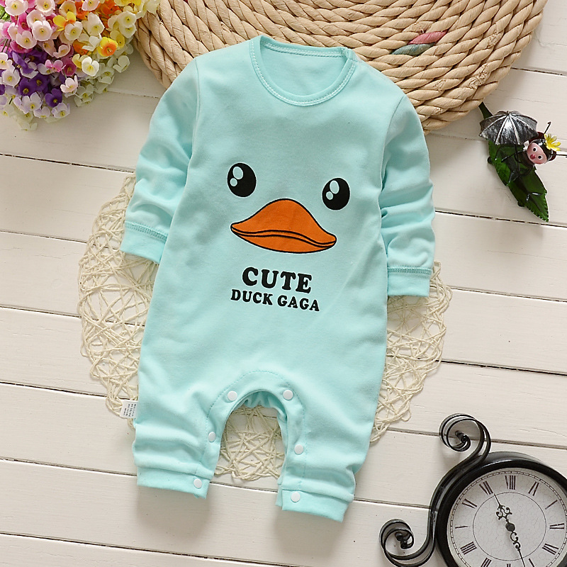 2018 Baby Clothing New Newborn Baby Boy Girl Romper Clothes Long Sleeve Infant Product Fashion Autumn Lovely 30color PA009 3pcs set newborn infant baby boy girl clothes 2017 summer short sleeve leopard floral romper bodysuit headband shoes outfits