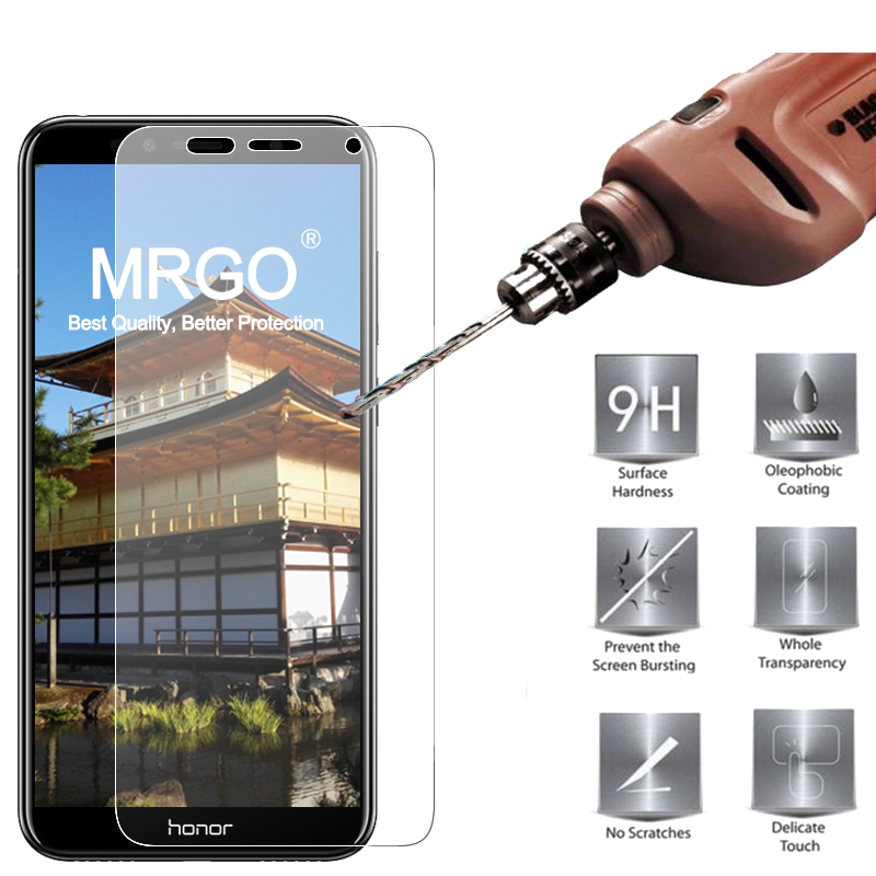 MRGO Tempered Glass For Huawei Honor 7A Pro Screen Protector 9H 2.5D Phone On Protective Glass For Huawei Honor 7A Glass