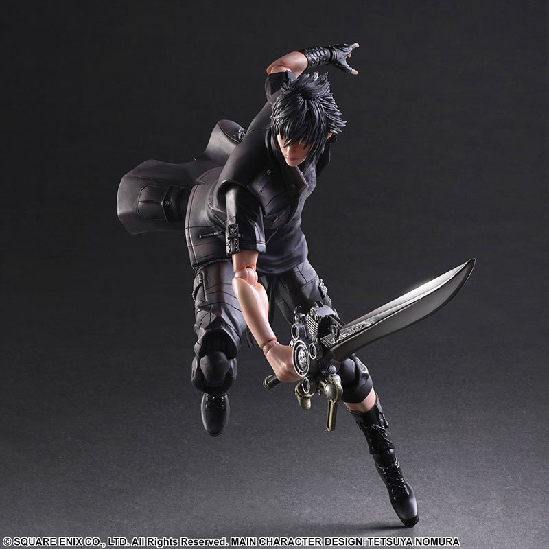 Play Arts Final Fantasy Noctis Lucis Caelum Action Figure PA Toy Doll 10 25cm
