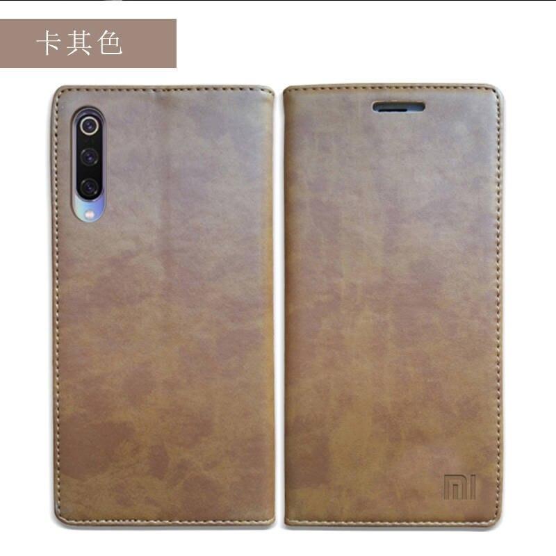for Xiaomi Mi 9 Case Luxury Genuine Leather Flip Case for Xiaomi Mi 9 Magnetic Book Wallet Cover for Xaiomi mi9 Phone Coque Case03
