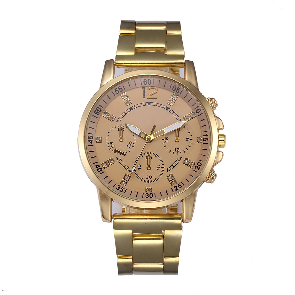 Luxury Lover's Watch Men Women Stainless Steel Watch Pretty Analog Quartz Wrist Watch Bracelet Gold RoseGold Automatic Watches