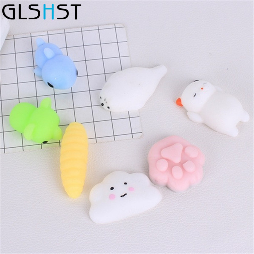 Squishy Cat Popsocket : Lovely 3D Mini Squishy Cat Seal Pop Phone Holder Straps Slow Rising Soft Press Squeeze Kawaii ...