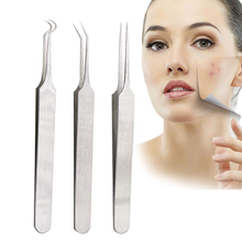 1PCS Blackhead Extractor Tool Stainless Acne Needle Pimple Tweezers Blackhead And Comedone Acne Extractor Face Skin Care