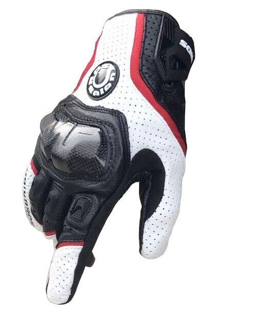 Uglybros-390 Guantes Moto Breathable Leather Gloves Motorcycle Gloves Motocross Gloves Guanti Moto Men Motorbike Gloves