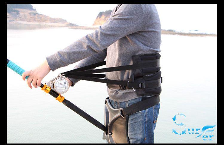 gigging boat big game fishing tools fishing belt  fighter gimbal jigging boat trolling fishing rod holder 66cm*26cm+37cm*25cm