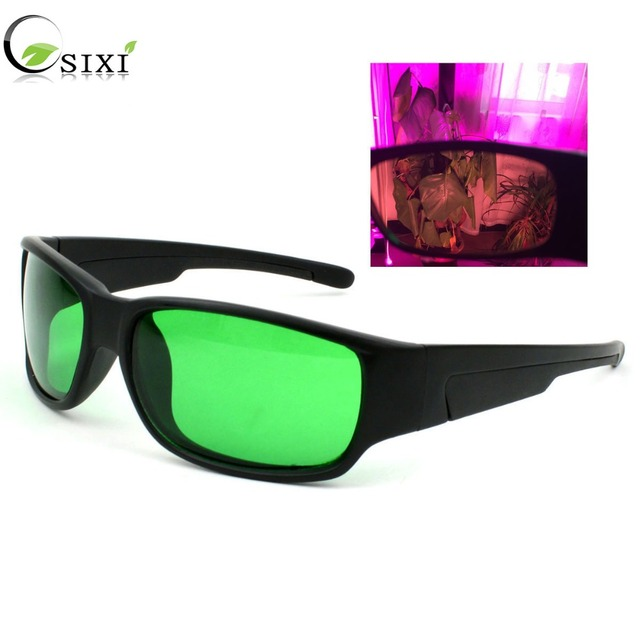 LED Grow Room UV Polarizing Goggles glasses for Grow Tent box Greenhouse Hydroponic Plants seeds flower