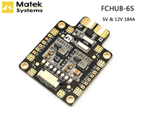High Quality Matek Mateksys FCHUB 6S Hub Power Distribution Board 5V 12V BEC Built In 184A