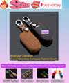 Top Quality Leather keys bag cases chain Keychain intelligent/folding for Wrangler Cherokee Grand Cherokee Compass Patriot Smart