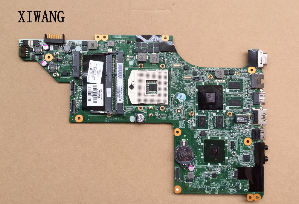 605320-001 Free Shipping Original laptop mainboard 615307-001 for HP Pavilion DV7 DV7-4000 motherboard DA0LX6MB6H1 DA0LX6MB6F1 флеш диск a data 8gb classic c008 белый ac008 8g rwe