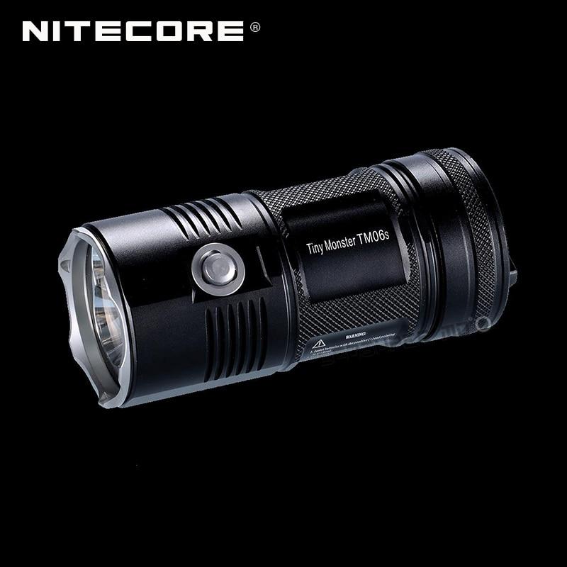 New product 2015 2016 Tiny Monster Nitecore TM06S 4000 Lumens CREE XM L2 U3 LED Searchlight Flashlight