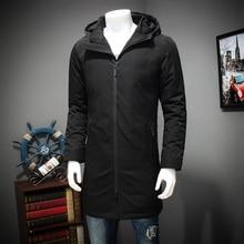 2017 new 10XL 8XL 6XL Winter Jacket Men Warm Coat Cotton-Padded Outwear Mens Coats Jackets Hooded Collar Thick Parkas zipper