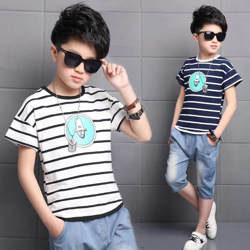Baby Boys Clothing Sets Toddler Cotton Baby Kids Clothes Summer Casual Children Suit Infant T-shirts + Pants 2Pcs Gentleman Suit dhl ems 1pc original servo motor msma152a1g