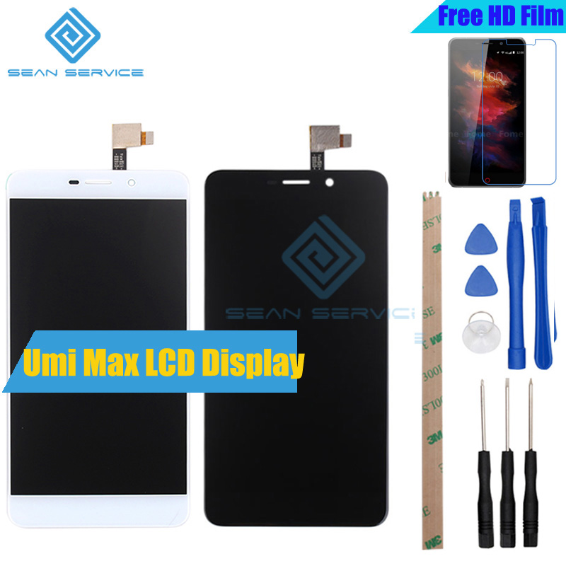 For UMI MAX Original LCD Display and Touch Screen +Tools Digitizer Assembly Replacement 1920X1080P 5.5inch For UMI MAX in stock replacement original touch screen lcd display assembly framefor huawei ascend p7 freeshipping